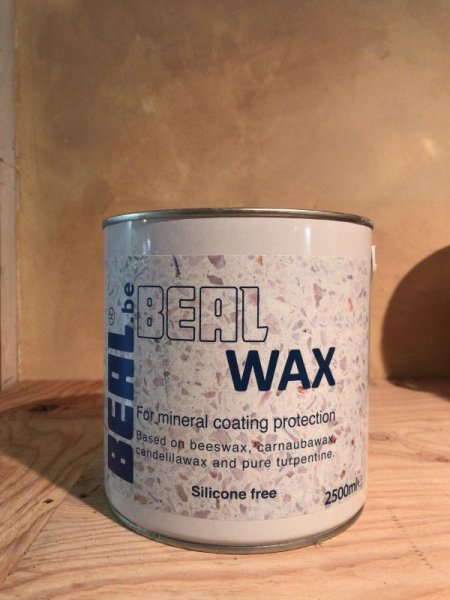 画像1: BEAL WAX   2.5リットル/41.6㎡分 (1)
