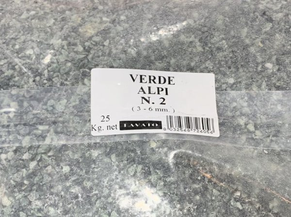 画像1: BEALSTONE 種石 VERDE ALPI  25Kg  1-3mm (1)